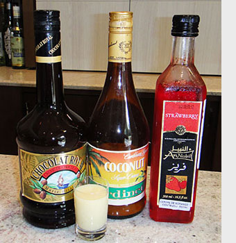 Cocktail Merry Xmas - Ingredientes