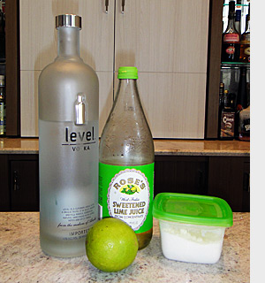 Rose's Shaken Ingredientes - Level, Rose's Lime - AntonioBorba.com