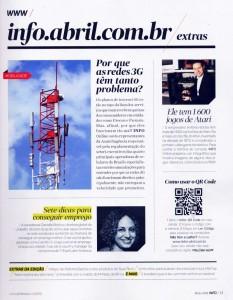 Revista Info Exame - Coleção Atari Antonio Borba