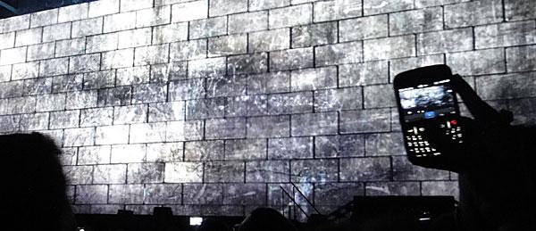 Filmando Parede Vazia com um BlackBerry - Roger Waters The Wall - AntonioBorba.com
