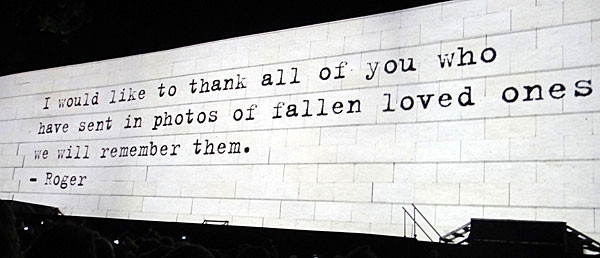 The Fallen Ones - Roger Waters The Wall - AntonioBorba.com