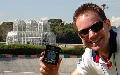 Atari Globetrotter no Jardim Botânico - AntonioBorba.com