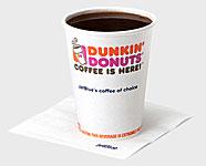 Donkin' Donuts Coffee - Free na Jetblue - AntonioBorba.com