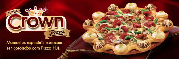Pizza Hut - Crown Pizza - A Enganação - AntonioBorba.com