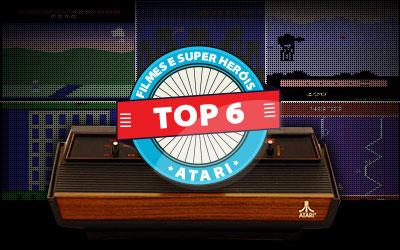 Atari - Top 6 Games de Heróis e Filmes - AntonioBorba.com