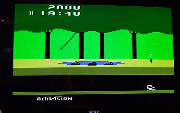 Pitfall! no Atari Flashback 2 - AntonioBorba.com
