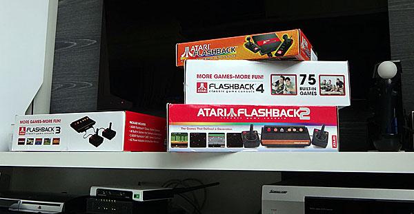 Atari Flashback modelos 1, 2, 3 e 4 - AntonioBorba.com