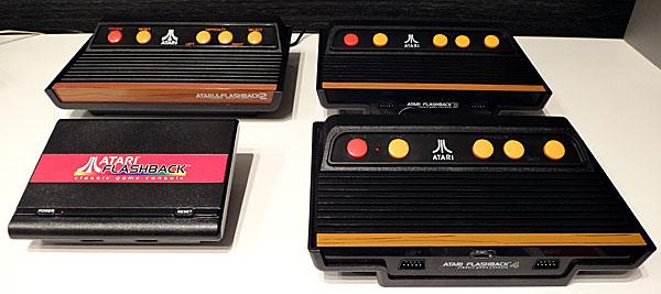 Atari Flashback 1, 2, 3 e 4 - AntonioBorba.com