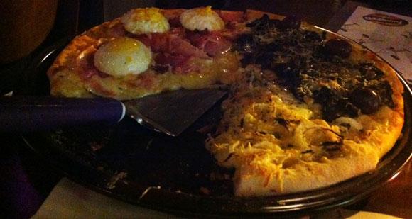 Pizza Fugazzeta + Quebrado - Indescritível - AntonioBorba.com