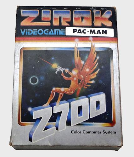 Pac-Man Atari 2600 da Marca Zirok - Caixa - AntonioBorba.com