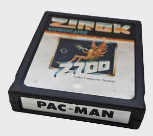 Pac-Man Atari 2600 da Marca Zirok - Cartucho - AntonioBorba.com