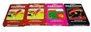 Jogos Atari Completos na Caixa: Marca Activision