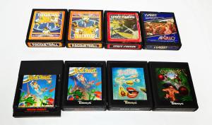 Jogos Atari 2600 à Venda: marcas Apollo e Telesys