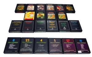 Jogos Atari 2600 à Venda: marcas Atari e Sears Telegames