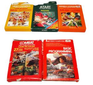 Jogos Atari Completos na Caixa: Marca Atari