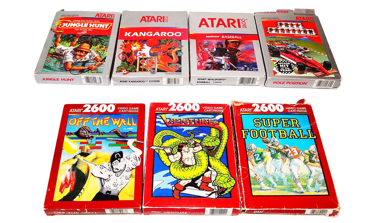 Jogos De Atari Completos Na Caixa 224 Venda Antonioborba Com