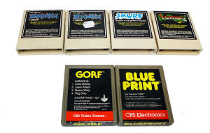 Jogos Atari 2600 à Venda: marcas Coleco e CBS Electronics