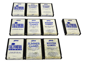 Jogos Atari 2600 à Venda: marca Epyx
