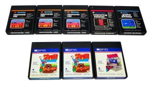 Jogos Atari 2600 à Venda: marca US Games