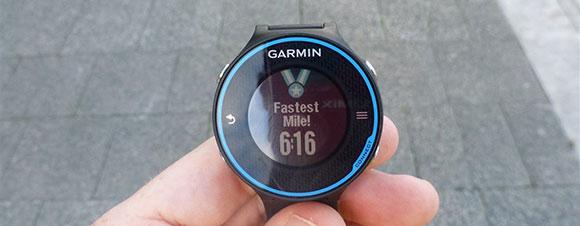 Garmin FR620 - Fastest Mile - AntonioBorba.com