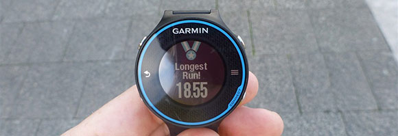 Garmin FR620 - Longest Run - AntonioBorba.com