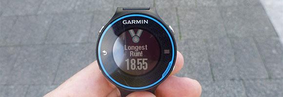 Garmin FR620 - Longest Run - AntonioBorba.com