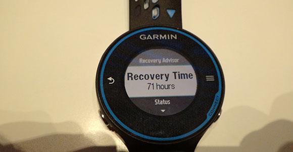 Garmin FR620 - Recovery Time - AntonioBorba.com