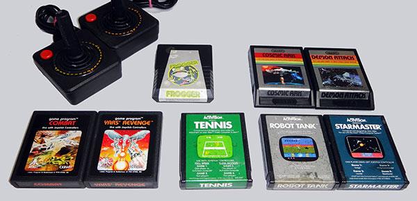 Atari - Lote Familiar - Games para Joystick - AntonioBorba.com