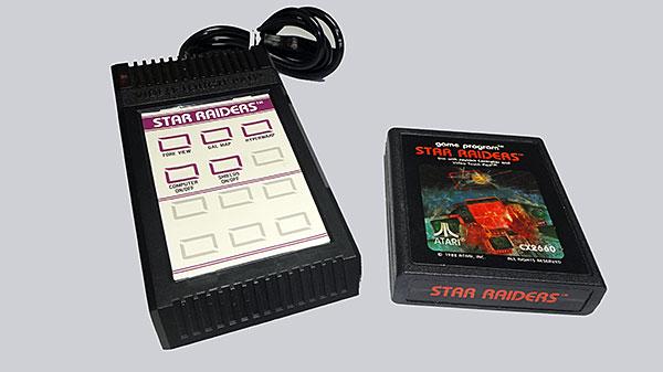 Atari - Lote Familiar - Star Raiders & Video Touch Pad - AntonioBorba.com