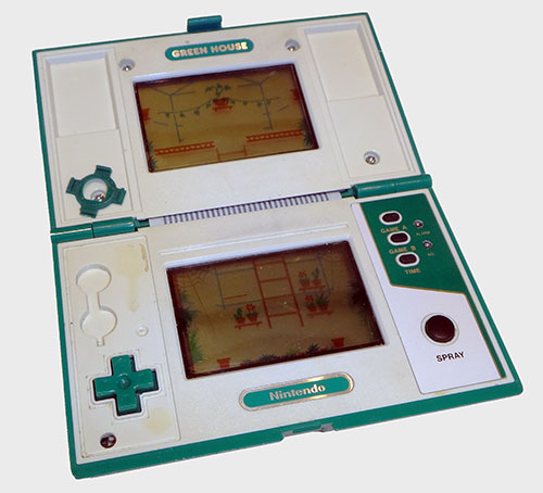 Green House Game & Watch Original - AntonioBorba.com
