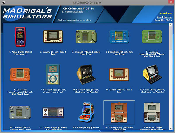 MADrigal CD Collection - 57 Games Simulados - AntonioBorba.com