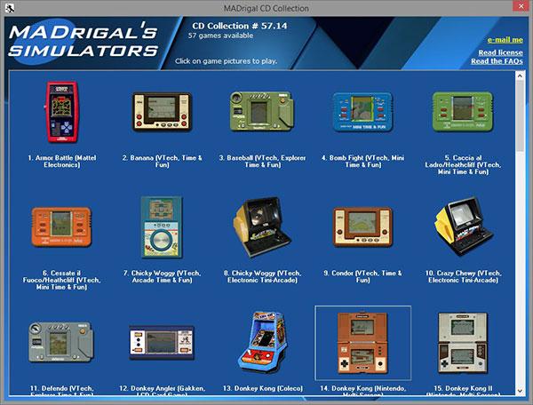 MADrigal CD Collection - 57 Games Simulados - AntonioBorba.com