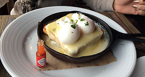 Croque Madame - Salish Lodge - AntonioBorba.com
