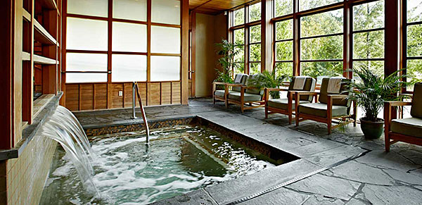 SPA do Salish Lodge em Snoqualmie, WA - AntonioBorba.com