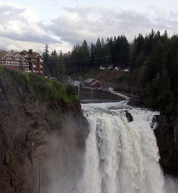 Snoqualmie Falls - The Real Twin Peaks - AntonioBorba.com
