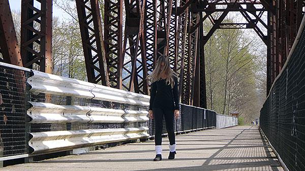 Dizem que é possível ver o espírito de Laura rondando a ponte... OPS! AntonioBorba.com