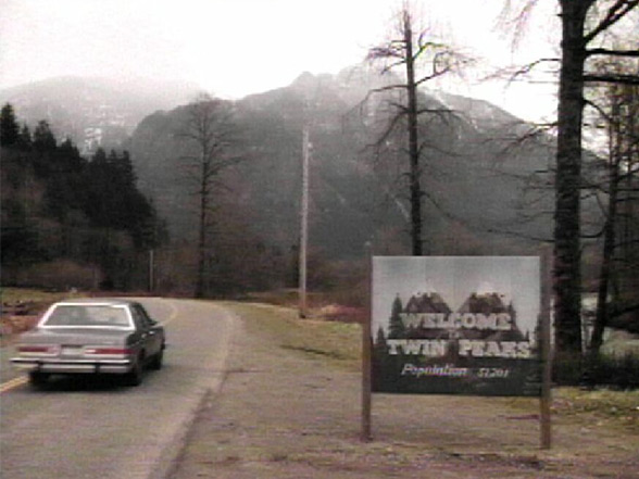 Twin Peaks Sign Spot - Foto original - AntonioBorba.com