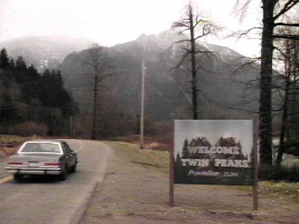 Twin Peaks Sign Spot - Foto original - AntonioBorba.com