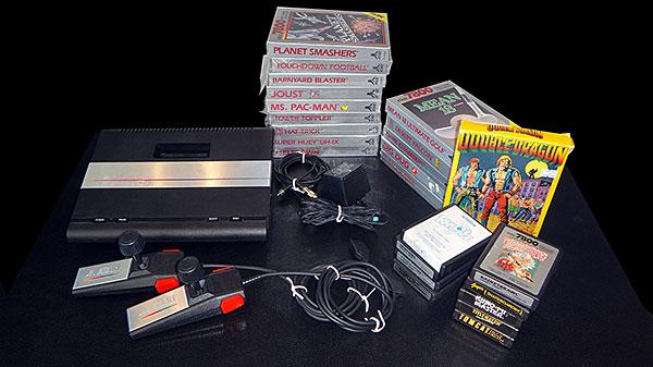 Atari 7800 com 40% da Coleção - AntonioBorba.com