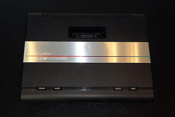 Atari 7800 - Vista Frontal - AntonioBorba.com