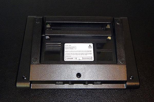 Atari 7800 - Vista Traseira - AntonioBorba.com