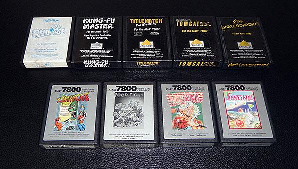 Atari 7800 - Jogos Avulsos Raros - AntonioBorba.com