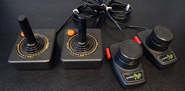 Lote 2 - Dactar 2 com Joysticks, Paddles e 20 Jogos - AntonioBorba.com
