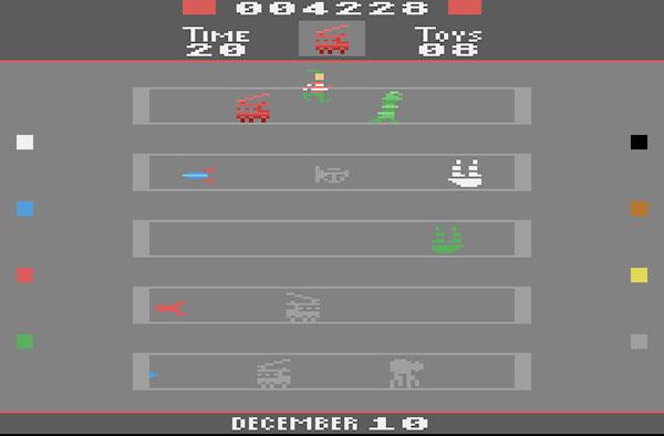 Toyshop Trouble - Homebrew Atari 2600 - AntonioBorba.com