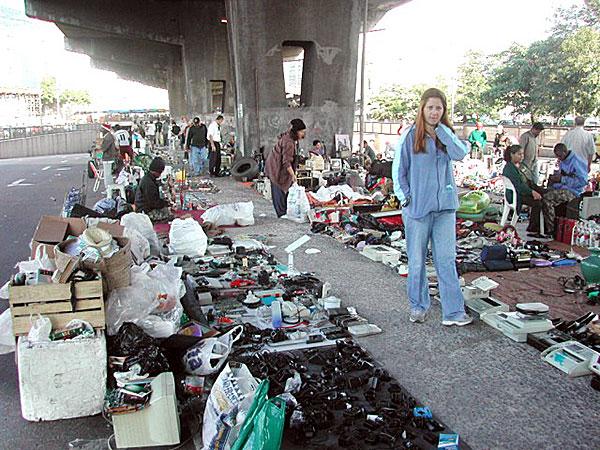 Atari Encontrado no Lixo - Feira da Praça XV - Rio de Janeiro - AntonioBorba.com