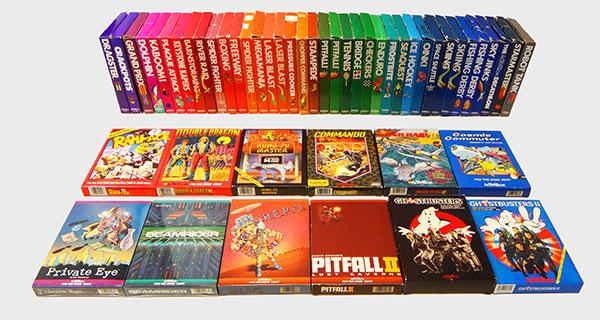 Atari Activision - Coleção Completa - AntonioBorba.com