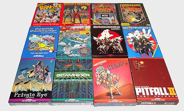 Atari Activision - Coleção Completa Special Label - AntonioBorba.com