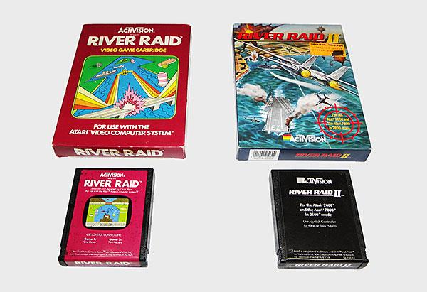 Atari Activision - River Raid e River Raid II - AntonioBorba.com