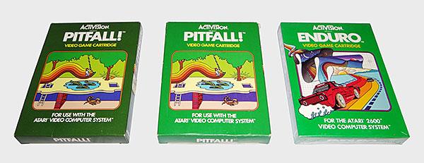 Atari Activision - Pitfall! e Enduro - AntonioBorba.com