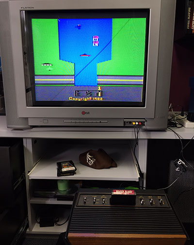 Atari Frente de Madeira - Teste de Imagem - AntonioBorba.com